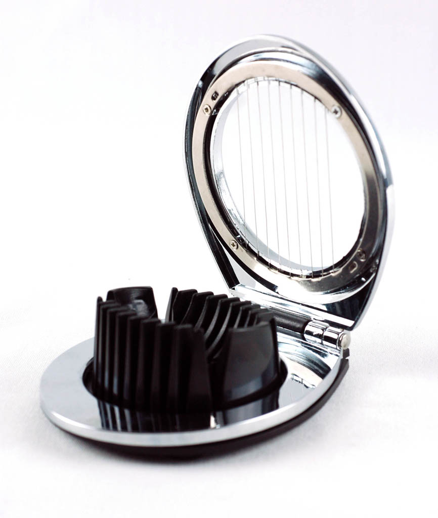 Zinc Alloy Two Way Egg slicer